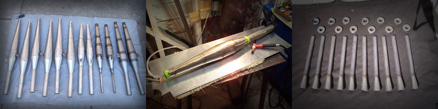 fabrication of kawasaki A7 stainless pipes 3