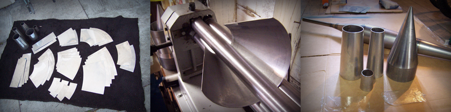 fabrication of kawasaki A7 stainless pipes