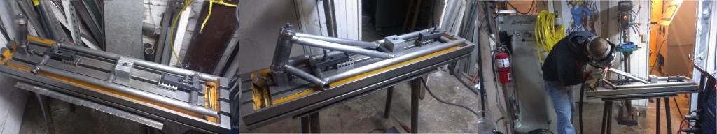 Begining welding of teh F37 frame