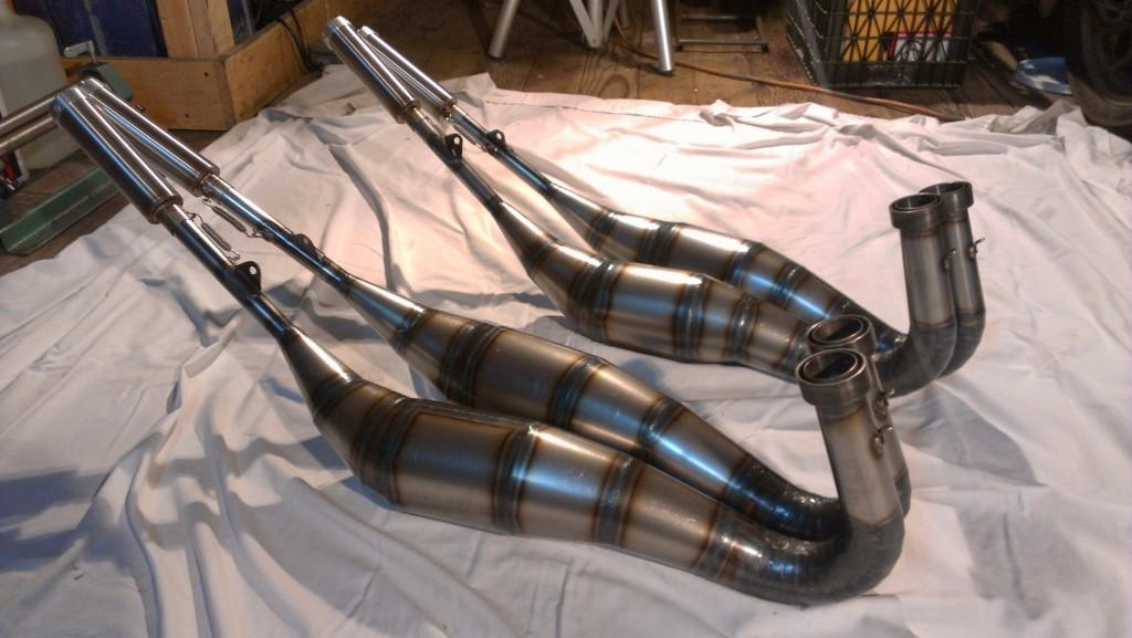 Highwayman TD3 pipes