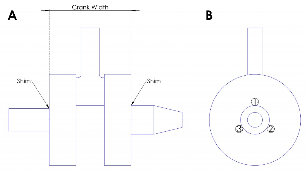 crank width